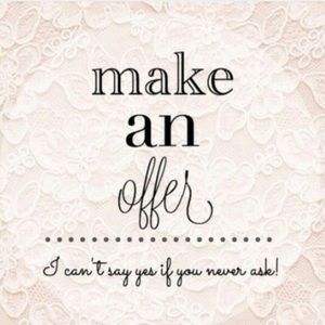 Other - Make an offer on items you like